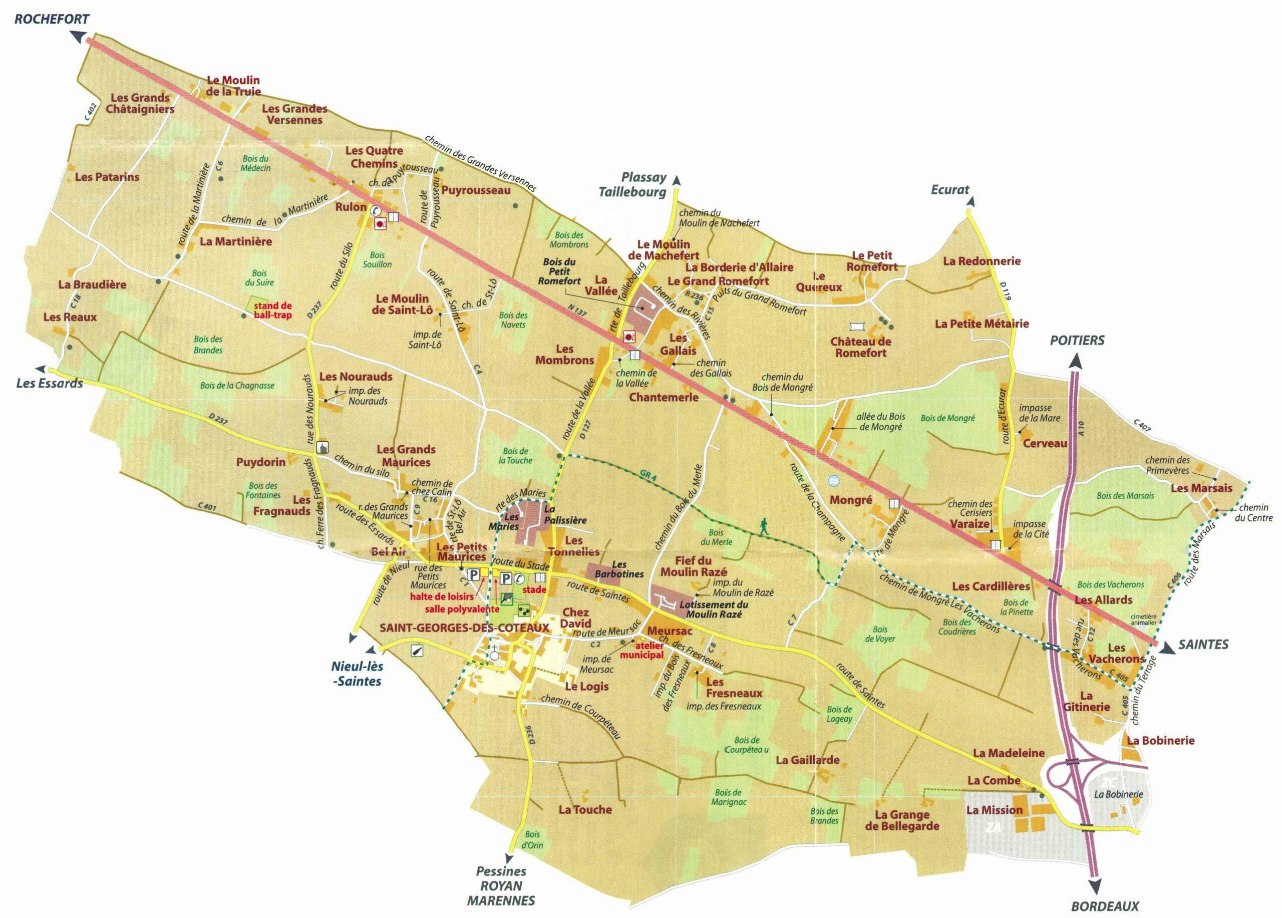 Association l'Avenir saint-georgeais Saint-Georges-des-Coteaux