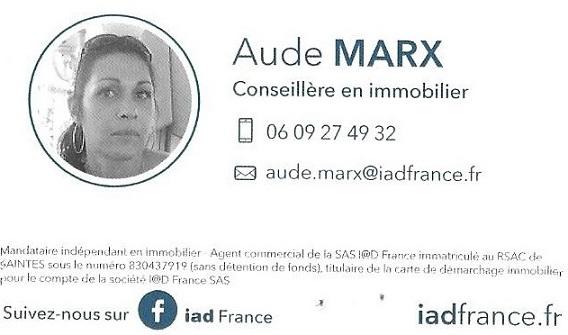 IAD agente immobilière aude marx saint-georges-des-coteaux