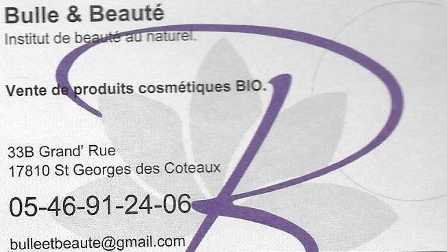 Institut de Beauté bulle et beauté saint-georges-des-coteaux