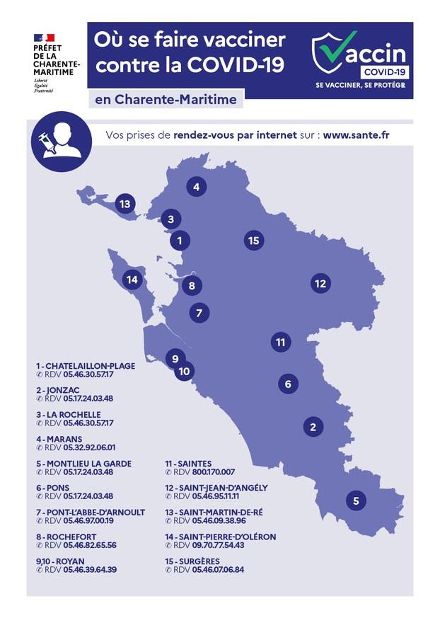 Carte vaccination saint georges des coteaux