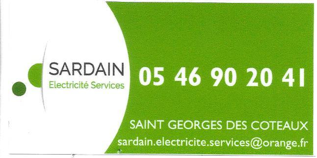 sardain électricité Saint-Georges-des-Coteaux