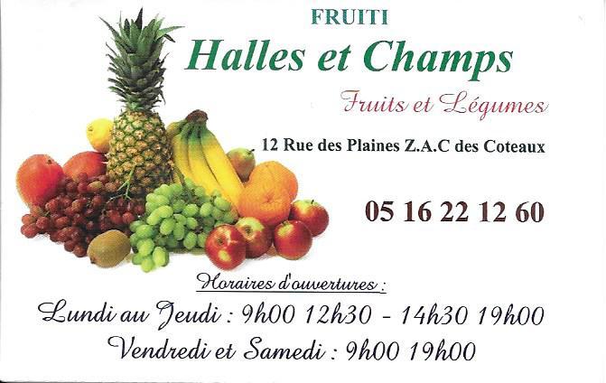 halle et champs fruits saint georges des coteaux